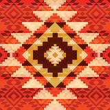 Ornamento tribale Fotografia Stock