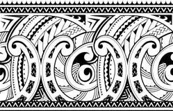Ornamento tribale etnico senza cuciture illustrazione di stock