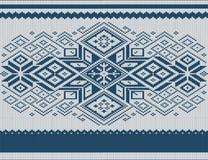 Ornamento tricottato Immagini Stock