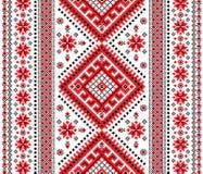 Ornamento ucraino Fotografie Stock