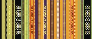 Ornamento udmurto de la alfombra Imagen de archivo