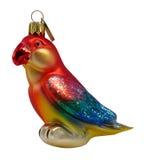 Ornamento variopinto del pappagallo Immagini Stock Libere da Diritti