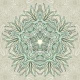 Ornamento verde arredondado Fotografia de Stock