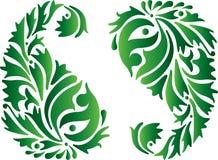 Ornamento verde dell'India Fotografia Stock Libera da Diritti