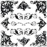 Ornamento victoriano stock de ilustración