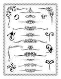 Ornamentos 2 del diseño Imagen de archivo libre de regalías
