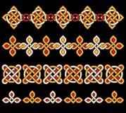 Ornamentos célticos Fotos de archivo libres de regalías
