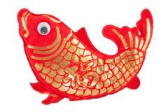 ornamentos chinos de los pescados del Año Nuevo para la decoración Imágenes de archivo libres de regalías