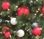 Ornamentos clásicos de la Navidad Imagen de archivo