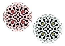 Ornamentos célticos Foto de archivo