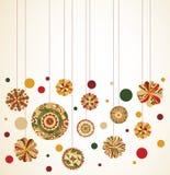Ornamentos colgantes Fotografía de archivo libre de regalías