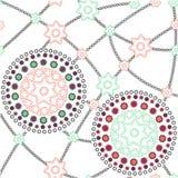 Ornamentos coloreados - modelo Imagenes de archivo