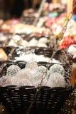 Ornamentos de cristal Imágenes de archivo libres de regalías