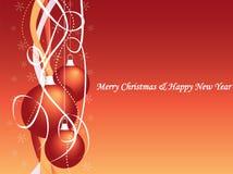 Ornamentos de la bola de la Navidad Imágenes de archivo libres de regalías