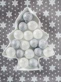 Ornamentos de la bola de la Navidad Imagen de archivo