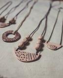 Ornamentos de la cerámica Fotos de archivo libres de regalías