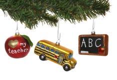 Ornamentos de la escuela Imagen de archivo libre de regalías