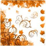 Ornamentos de la estación del otoño Foto de archivo libre de regalías