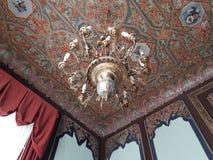 ornamentos de la lámpara y del techo Imágenes de archivo libres de regalías
