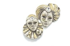 Ornamentos de la mascarilla Fotos de archivo