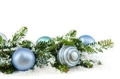 Ornamentos de la Navidad Imagenes de archivo