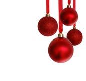 Ornamentos de la Navidad Fotos de archivo