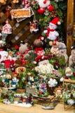Ornamentos de la Navidad Fotos de archivo libres de regalías