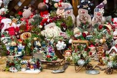 Ornamentos de la Navidad Imagen de archivo