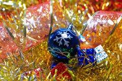 Ornamentos de la Navidad Imágenes de archivo libres de regalías