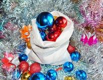 Ornamentos de la Navidad, decoraciones, aún vida, fondo, composición Fotos de archivo