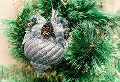 Ornamentos de la Navidad, retros Imagenes de archivo
