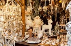Ornamentos de la Navidad y bolas de la Navidad Fotos de archivo