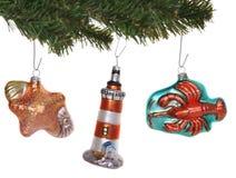 Ornamentos de la playa Foto de archivo libre de regalías