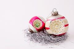Ornamentos de la vendimia Foto de archivo libre de regalías