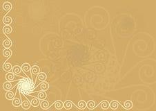 Ornamentos de los espirales Imagenes de archivo