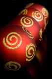 Ornamentos de Navidad Foto de archivo libre de regalías