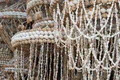 Ornamentos de shelles del mar Imágenes de archivo libres de regalías