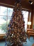 Ornamentos del árbol de navidad Fotografía de archivo libre de regalías