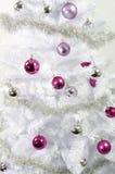 Ornamentos del árbol de navidad Imagen de archivo