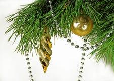 Ornamentos del árbol de navidad Imagenes de archivo