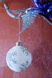 Ornamentos del Año Nuevo Imagen de archivo libre de regalías