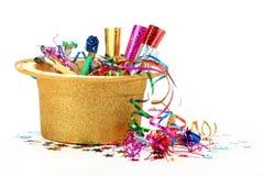 Ornamentos del Año Nuevo Fotografía de archivo libre de regalías