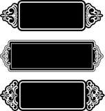 Ornamentos del cordón de la vendimia Imagen de archivo libre de regalías