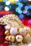 Ornamentos del día de fiesta Imagen de archivo libre de regalías