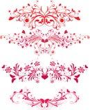 Ornamentos del día de tarjeta del día de San Valentín libre illustration