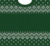 Ornamentos del escandinavo del marco de la tarjeta de felicitación de la Feliz Año Nuevo de la Feliz Navidad Fotografía de archivo