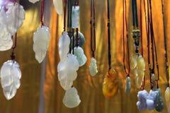 Ornamentos del jade imagen de archivo