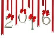 2016 ornamentos del número Foto de archivo libre de regalías
