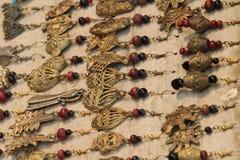 Ornamentos del oído hechos por el suelo de la quemadura Fotografía de archivo libre de regalías