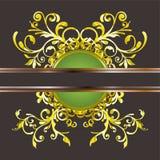 Ornamentos del oro Stock de ilustración